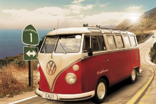Empire 327895 Auto VW Californian Camper, Poster, 91,5x61 cm