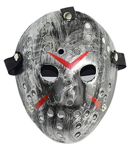 OENKIKIN Halloween Maske Freddy Wars Jason Maskerade Maske Horror Harz Weihnachtsmaske Halloween Kostüme und Masquerade Cosplay Design