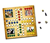 MEINSPIEL Foto-Brettspiel - Einfach Nicht ärgern - Mit Ihren Fotos Bedruckt - Inkl. bedruckter Box