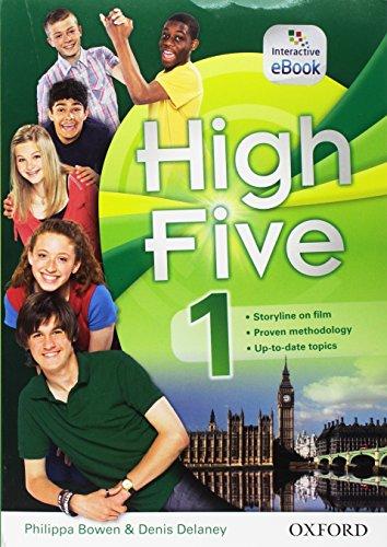 High five. student's book-workbook-exam trainer. per la scuola media. con cd audio. con e-book. con espansione online: high five 1: super premium. con ... open booke audio cd [lingua inglese]