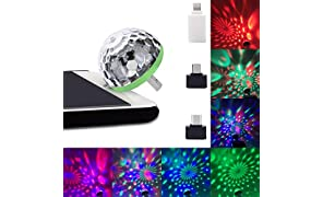 SOUND FIRE WITH DEVICE LED USB Party Lights Magic Ball for Mobile Phones (Multicolour)