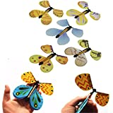 1pc Transformación Vuela Mariposa Capullo en una Mariposa Mago Prop Truco Magia (Color al Azar)