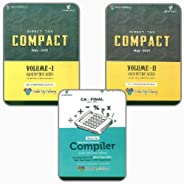 CA Final Direct Tax COMPACT & COMPILER (COMBO) For May 2021 Exams By CA Bhanwar Bo