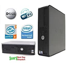Dell OptiPlex GX620 (2,8 GHz Pentium 4 HT, 160 GB HDD, 2 GB RAM, WiFi-Ready, Windows XP Professional SP3)