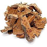 0,5kg schöne, saubere Korkstücke bzw. Korkreste zum Beknabbern, Basteln, Dekorieren oder für Terrarien