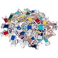 HögaVerbandklammern Mix,Verbandklammern farbig sortiert mit Gummiband, 100 Stück preisvergleich bei billige-tabletten.eu