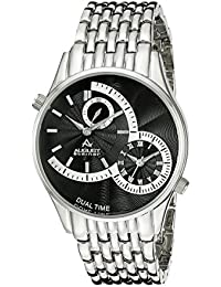 August Steiner Reloj de cuarzo Man AS8141SSB  42 mm