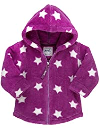 Kite Baby Girls Starry Hooded Fleece Starred Long Sleeve Jacket