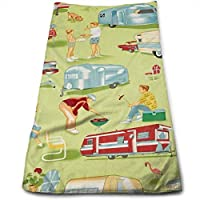 ewtretr Toallas De Mano, Trailer Travel Camp Multi Soft Cotton Large Hand Towel- Multipurpose