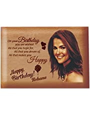 Presto Birthday Gift Love Gift Valentine's Day Gift Corporate Gift Wooden Photo Frame by Engraving Process (4 x 5 inch)