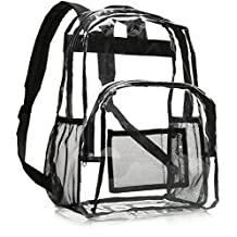 AmazonBasics School Backpack - Clear