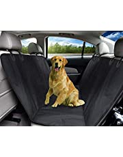 KOZI PET Dog Car Seat Covers Back for Dog Hammock Waterproof with Door Protection, Durable Nonslip Washable Rear Seat Covers, Large Travel Pet Seat Cover