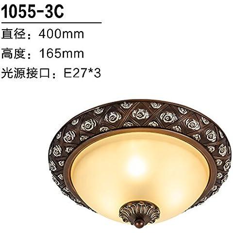 Continental luce da soffitto lampade in resina lampada a Led sarà su di noi Soggiorno Camera da Letto Balcone Ristorante Cinese luce di lampade da ,1055 3C Hyun