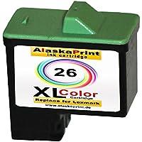 Premium Kompatible Druckerpatrone Ersatz per Lexmark 26xl Color colorato per