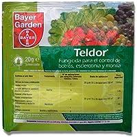 BAYER GARDEN - Fungicida para el control de botritis, esclerotinia y monilia Teldor 20g