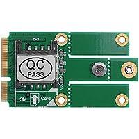 Hillrong M.2 NGFF B Key to Mini PCI-E - Adaptador para Tarjeta SIM