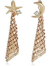 Young & Forever Mothers Day Gifts Galaxy Collection Celestial Sequins Moon & Star Ear Jackets Statement Stylish...