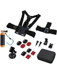 Rollei Actioncam Sport L Accessory Set 17-Piece Set