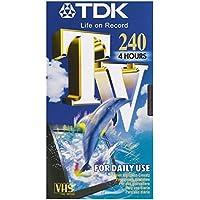 Tdk Videocassetta Vhs Tv 240 Min T14563