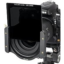Nuevo: Filtro de densidad neutra de alta calidad de HAIDA de Vidrio óptico de alta calidad - ND 1.8 (64x) para la inserción de tamaño 100 mm x 100 mm - Compatible con el sistema de Cokin Z PRO