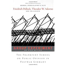<i>Group Experiment</i> and Other Writings: The Frankfurt School on Public Opinion in Postwar Germany by Friedrich Pollock (2011-02-15)