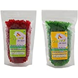 Leeve Dry Fruits Combo Pack On Red Tutti Frutti And Green Tutti Frutti (Each 200 Grams Pack), 400 Grams