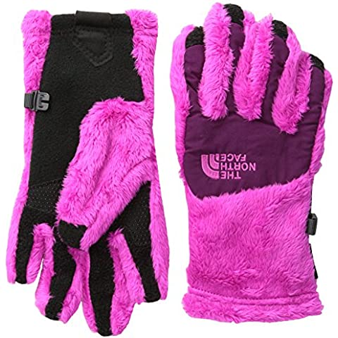THE NORTH FACE Handschuhe Denali Thermal Etip - Guantes para niña, color rosa, talla L