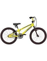 """Monty 105 - Bicicleta de montaña para niño, color amarillo, 9"""""""