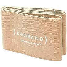 Booband BOOBAND - Fascia seno reggiseno regolabile per Donna, Beige, Medio (Vestito taglia 44-50)