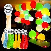 GHB 50 X Globos Colores de LED Luces para Fiesta Boda Cumpleaños Navidad Reunión Ceremonia etc