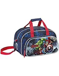 Safta Avengers Bolsa de Deporte Infantil, Color Azul Marino