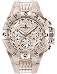 Jacques Lemans Herrenarmbanduhr Powerchrono 2008 1-1377 I