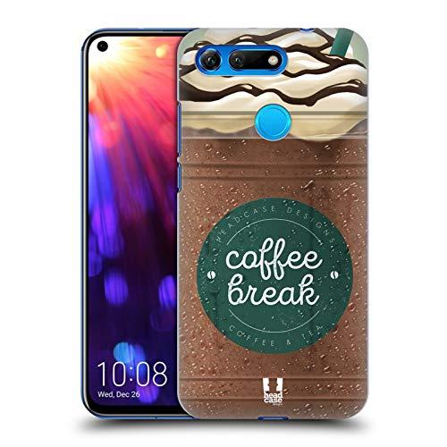 Head Case Designs Schokolade Kaffeetassen Harte Rueckseiten Huelle kompatibel mit Huawei Honor View 20 / V20