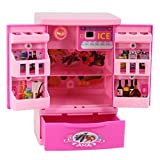 Bescita Baby Entwicklungs Pädagogisches Kühlschrank Pretend Spiel Haushaltsgeräte Küche Simulation Spielzeug Kind Geschenk (F)