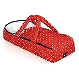 BRIO 24891592 - Puppen-Tragetasche, rot/weiß