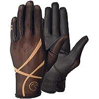 AK Summer - Guantes transpirables para montar a caballo y para uso diario, color negro, tamaño extra-large