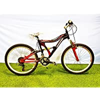 Bicicleta 24-dh krizer full suspension