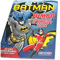 Batman Coloring Activity Book FREE 24pc Colorful Crayons By Bendon