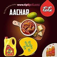 TIP TIP Homemade Spicy Mango Pickle Rajasthani Masaledar Aam Ka Achaar with Pure Mustard Oil (400g)