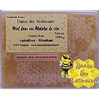 Miel de Lavandes dans ses alvéoles de cire naturelle 500g / Produit de France
