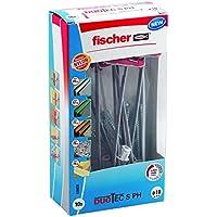 Fischer 539026tacos basculantes espárrago Duotec 10S PH LD placa para materiales de construcción, 10unidades)