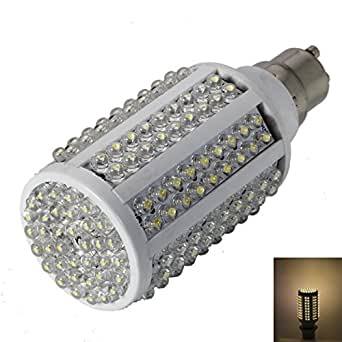 GU10 9W 180LEDs 750-800LM 3000K Warm White Light LED Corn Light Bulb (110-240V)
