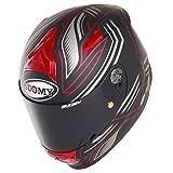 Suomy KSSR0006.6 Casco Moto, Roso, XL