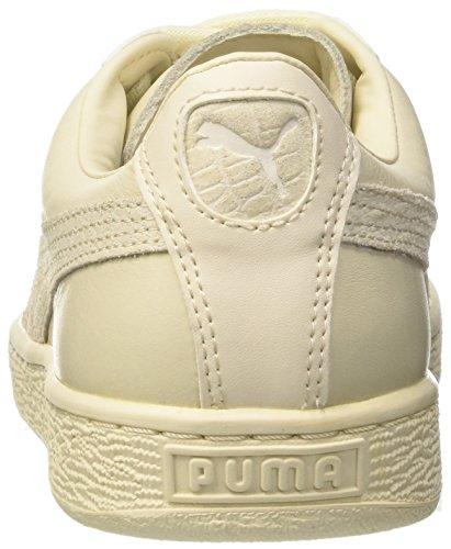 Puma  Basket Superman, Sneakers basses mixte enfant Beige (Birch)