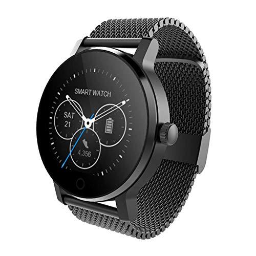 Oshide SMA-09 1.28 Zoll Bluetooth-Anruf-Musik, die Herzfrequenz-Überwachungs-intelligente Uhr spielt
