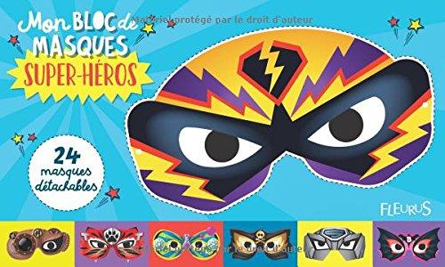 Mon bloc de masques super-héros par
