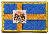 Flaggen Aufnäher Schweden Royal Fahne Patch + gratis