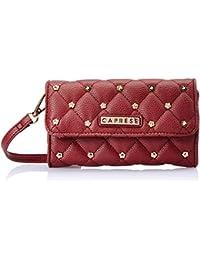 Caprese Kaarika Women's Clutch (Brick Red)