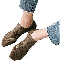 Fascigirl Calcetines Invisibles, Calcetines para Hombre Calcetines Antideslizantes para La Moda con Agarre en El