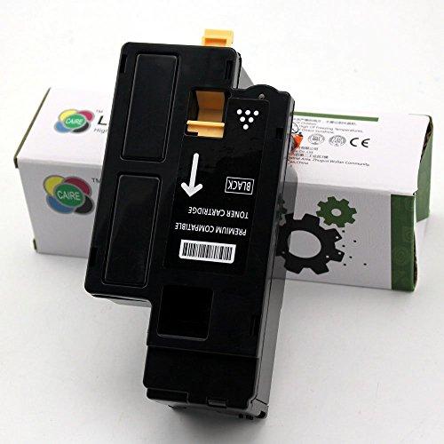 HOCHLEISTUNGS TONER mit 20% höhere Druckleistung nach ( ISO-Norm 19798 ) Schwarz kompatibel zu Dell E525w LED Farblaser Multifunktionsdrucker - 593-BBJX - Schwarz 2.400 Seiten